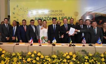 6af1e87440 Carta de Palmas manifesta preocupação de governadores com avanço do  desmatamento ilegal na Amazônia Legal