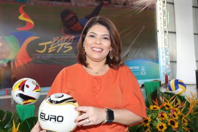 Para a secretária Adriana Aguiar, os Jogos têm um papel pedagógico