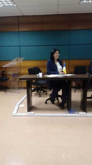 Presidente da Jucetins, Thais Coelho, participou da Assembleia da Fenaju