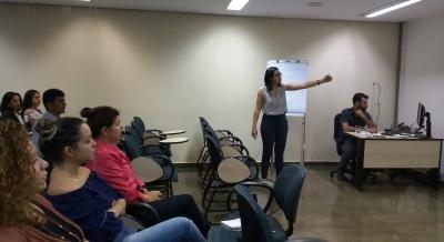 Equipe da ATI apresentou o sistema no auditório da CGE