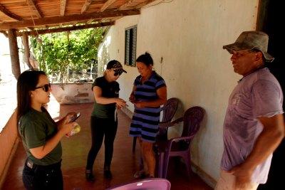 Mais de duas mil propriedades rurais foram visitadas pelas equipes do Comitê do Fogo