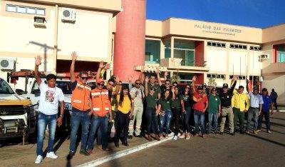 Representantes de mais de 30 instituições se revezaram nas visistas aos municípios para as ações do Dia D