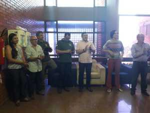 A cerimônia foi marcada com apresentação de projeto ambiental e cultural