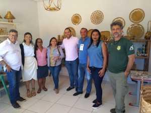 Equipe do Naturatins visitou o escritório da Área de Proteção Ambiental (APA) Jalapão