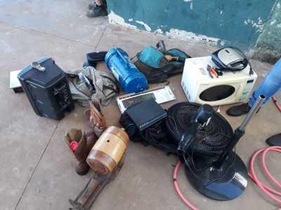 Vários objetos roubados foram recuperados pela PM_400.jpg