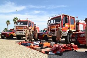 Caminhões foram adquiridos na Itália para atender o Corpo de Bombeiros Militar