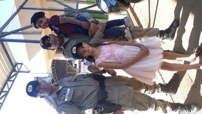 Foto 02 - Visita ao 6º Batalhão da PM foi descontraída e esclarecedora ao Davi Miguel_400.jpg