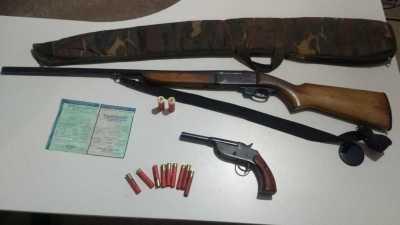 Foto 04 - Armas de fogo apreendidas na sexta, em OPeração na cidade de Gurupi_400.jpg