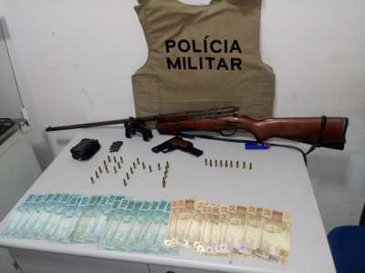 Foto 01 - Duas armas de fogo apreendidas na madrugada de 09 para 10, em Gurupi.jpeg