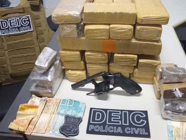 Polícia Civil prende dois traficantes e apreende mais de 20 kg de drogas em Araguaína