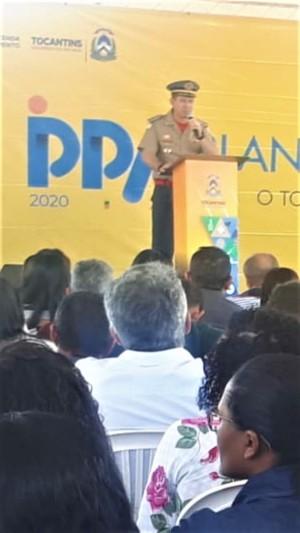 Coronel Leandro destaca ações do CBM com atuação no Parque Estadual do Jalapão
