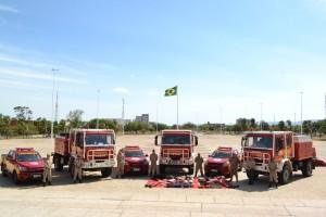 Caminhões importados da Itália foram entregues pelo governado do Tocantins