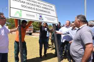 Foram utilizadas mais de 90 placas com informações ambientais, rodoviárias e turísticas