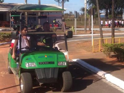 A Transitolândia ensina para as crianças, que são os futuros condutores, a importância do cumprimento das regras de trânsito