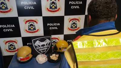 Mototaxista é preso por tráfico de drogas em Palmas
