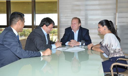 Governador Mauro Carlesse afirmou que apoia a iniciativa da Faciet e que outras reuniões serão feitas para alinhar os projetos apresentados