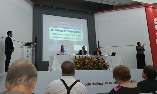 O seminário é realizado pela Escola Nacional de Administração Pública (Enap)