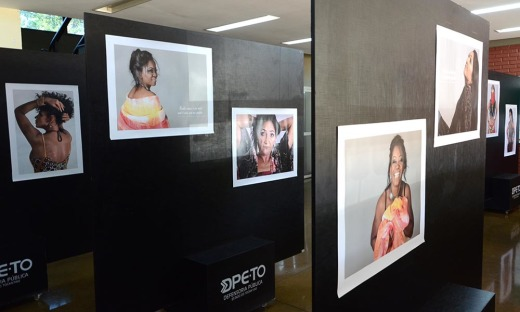 A exposição é uma realização da Defensoria Pública do Estado do Tocantins