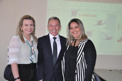 A ATR recebeu o Secretário Edson Cabra como palestrante do 1ª encontro