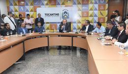 Governador Mauro Carlesse e ministro Marcelo Álvaro Antônio discutem investimentos para infraestrutura e promoção do turismo tocantinense