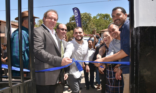 Governador também inaugurou a unidade de atendimento do Instituto de Identificação do Tocantins, vinculado à Secretaria da Segurança Pública, no distrito de Taquaruçu