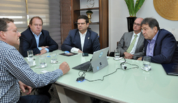 Governador Carlesse recebeu empresários israelenses que apresentaram tecnologias nas áreas de segurança e de agricultura