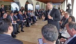 Governador Mauro Carlesse destacou a importância de reunir líderes das três regiões para discutir pautas de interesses em comum