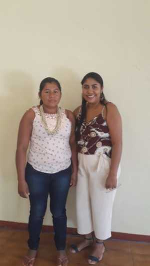 a produtora rural indígena Shirlene Sikuatkadi de Brito Xerente, também participa do PNAE