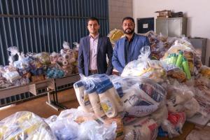 Presidente da AEM Rérison Antonio Castro Leite fez a entrega oficial dos produtos pré-medidos periciados