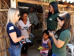 Trabalhos chegaram a centenas de propriedades rurais no Tocantins