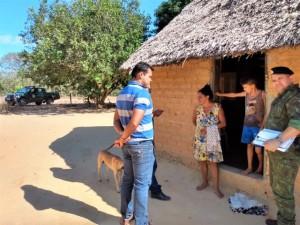 Integrantes do Comitê do Fogo visitam propriedades rurais