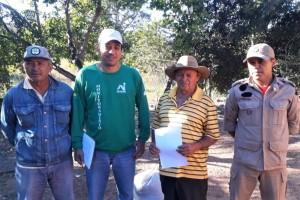 Agricultores são orientados sobre práticas corretas de manejo e prevenção do fogo