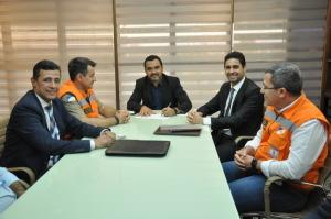 Governador em exercício, Wanderley Barbosa, assina decreto  que declara situação de  risco de desastre no Tocantins