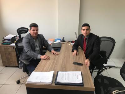 Superintendente do Procon-TO, Walter Viana, e diretor do Procon PA, Nadilson Neves