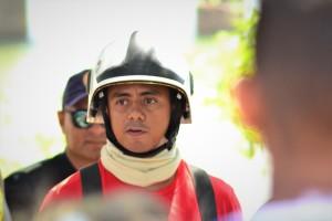 Capitão Nogueira, do Corpo de Bombeiros Militar