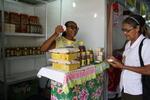 A venda do mel é um dos fortes empreendimentos no Tocantins
