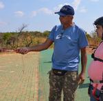 Para Silvio Lima, instrutor parceiro da ação, ajudar alguém a realizar um sonho não tem preço