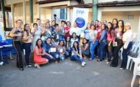 Participantes comemoram escolha da Assistência Social