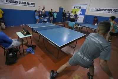 As disputas de tênis de mesa foram realizadas no sábado, dia 24 de agosto