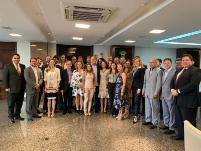 Procuradores do Estado recebidos pelo governador Mauro Carlesse
