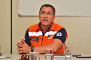 Tenente-coronel Geraldo Primo, superintendente da Defesa Civil Estadual