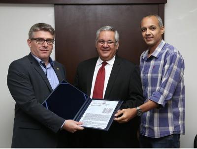 Encontro abordou a recente assinatura de Termo de Cooperação Técnica formalizada entre as instituições