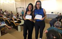 Elaine Aires de Oliveira e Ana Dolores Lima Dias foram instrutoras voluntárias na Egefaz