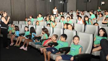 Mais de 140 alunos participaram de palestras educativas sobre segurança no trânsito promovidas pelo Detran-TO
