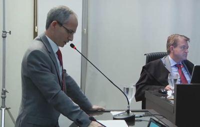 Procurador-Geral Nivair Borges fez sustentação oral no pleno do TCE