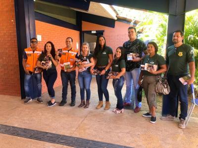 Equipe do Comitê do Fogo realiza Blitz Educativa Ambiental