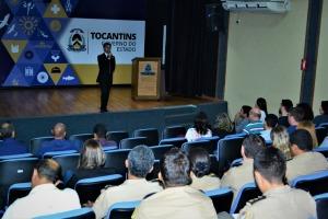 Evento reuniu as forças de segurança do Estado