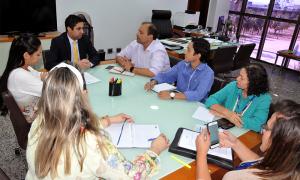 Reunião alinhou os trabalhos do Executivo com a Assembleia Legislativa