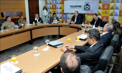 Após as apresentações, cada gestor utilizou a palavra para apresentação de relatório de ações e para discussão de temas comuns da administração