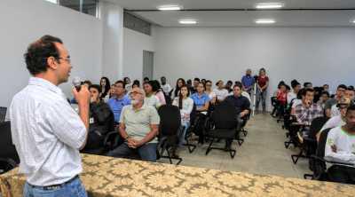 """Prof. Jardel Barbosa dos Santos: """"Governo do Estado está pensando num planejamento de inclusão da sociedade e desenvolvimento regional dentro da bacia do Rio Pium""""."""